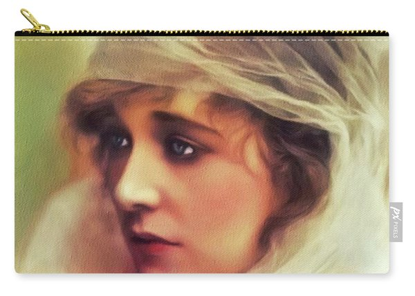 Ethel Clayton, Vintage Actress Carry-all Pouch