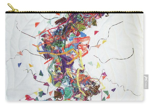 Etude In Fabric Carry-all Pouch