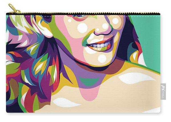 Eva Marie Saint Carry-all Pouch