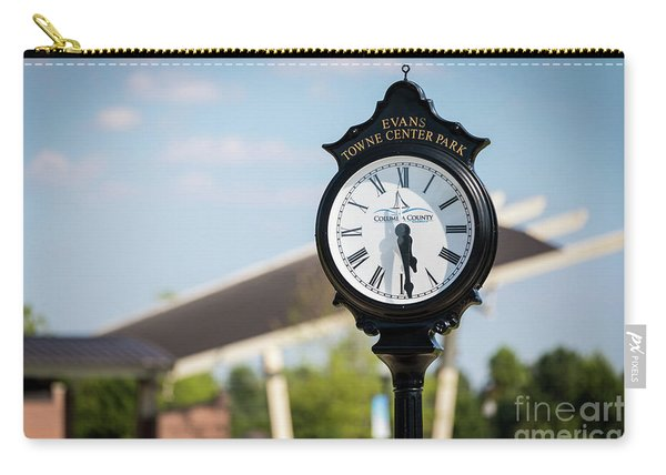 Evans Towne Center Park Clock - Evans Ga Carry-all Pouch
