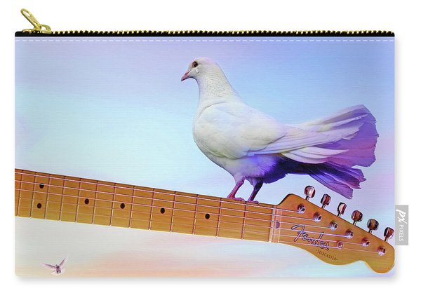 Even Doves Cry Carry-all Pouch