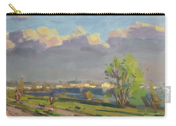 Evening At Gratwick Waterfront Park Carry-all Pouch