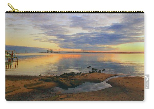 Evening By The James River Carry-all Pouch