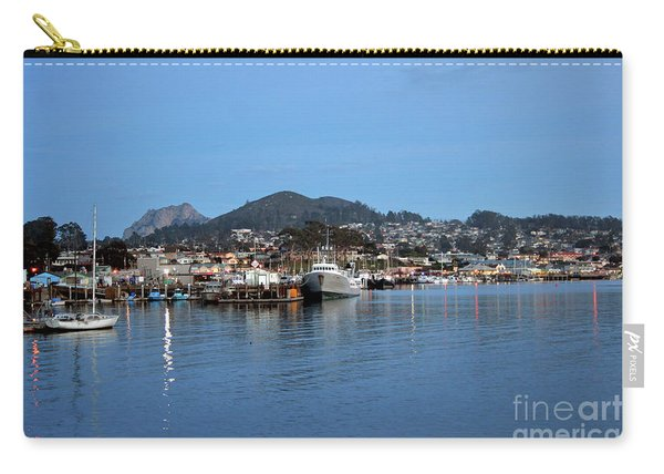 Evening In Morro Bay Carry-all Pouch