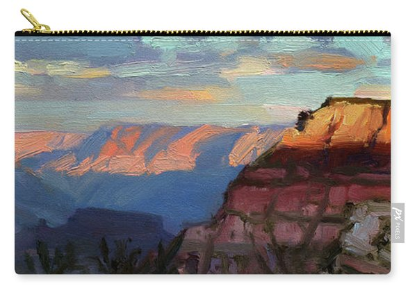 Evening Light At The Grand Canyon Carry-all Pouch