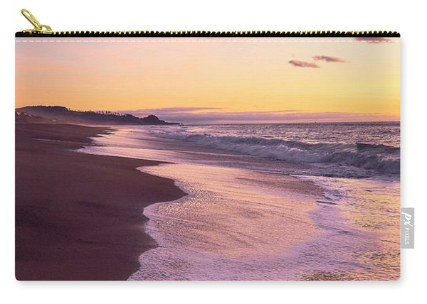 Carry-all Pouch featuring the photograph Evening On Gleneden Beach by Whitney Goodey