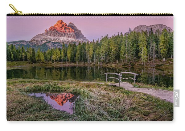 Evening On Lago D'antorno Carry-all Pouch