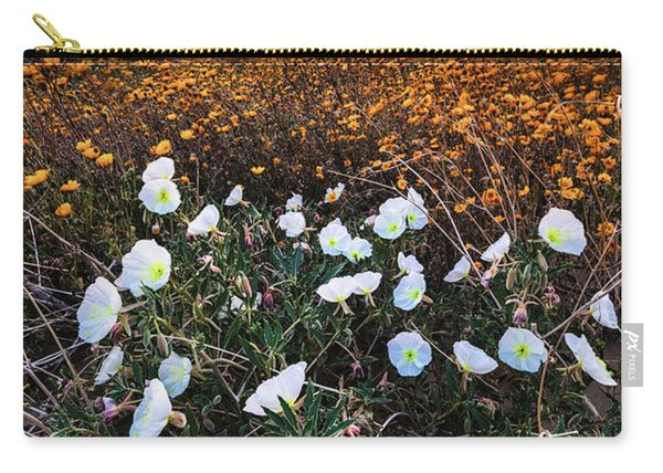 Evening With Primroses Carry-all Pouch