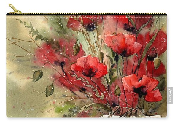 Everything About Poppies I Carry-all Pouch