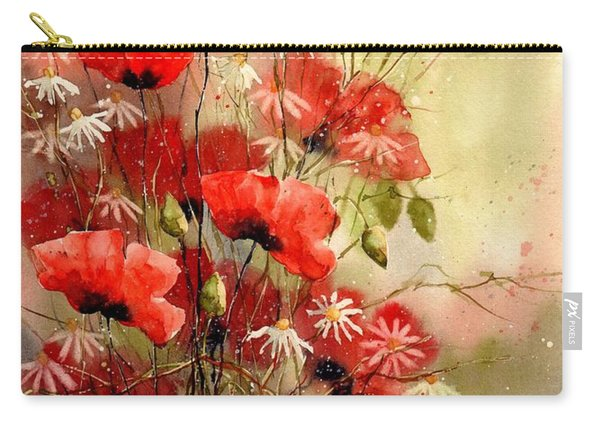Everything About Poppies IIi Carry-all Pouch