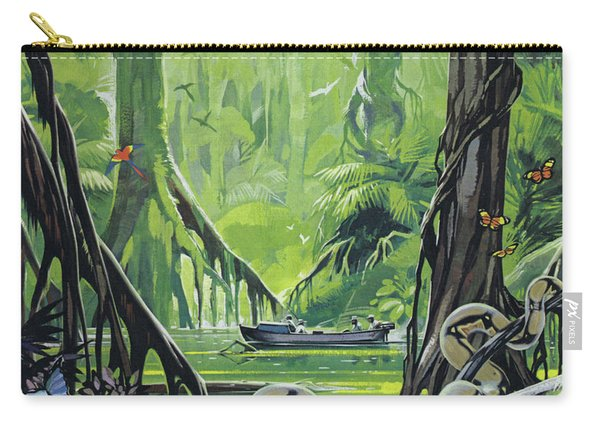 Exploring The River Amazon Carry-all Pouch