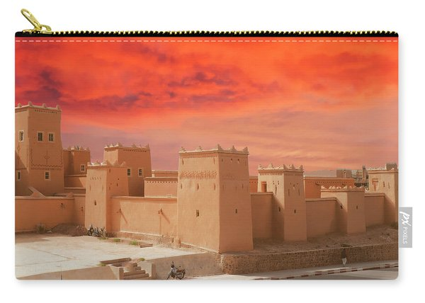 Exterior Buildings Of Kasbah Taourirt Carry-all Pouch