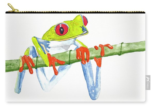 Fabio T Frog Carry-all Pouch