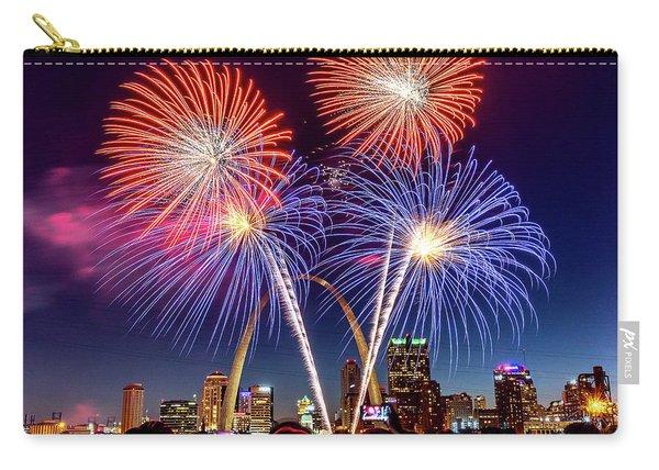 Fair St. Louis Fireworks 6 Carry-all Pouch