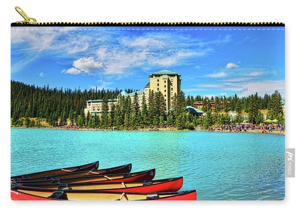 Fairmont Chateau Lake Louise Carry-all Pouch