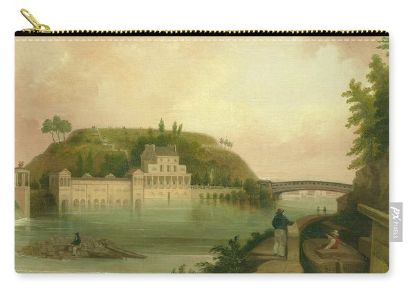Fairmount Waterworks About 1838 Carry-all Pouch
