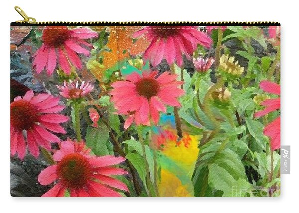Fairy Among The Flowers Carry-all Pouch