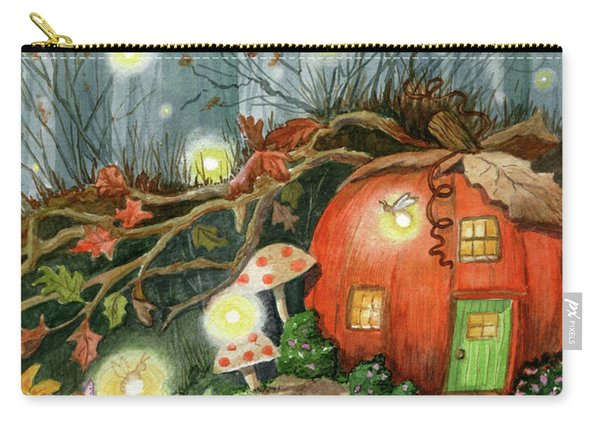 Fairy And Firefly Fantasy Carry-all Pouch