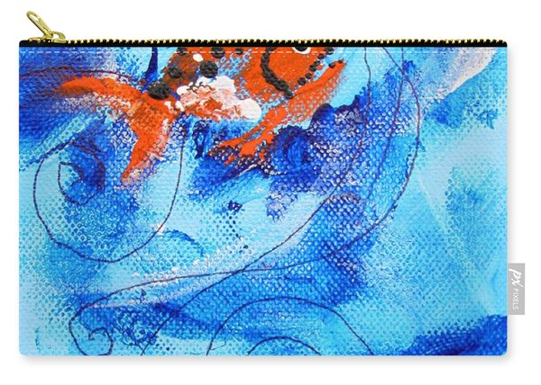 Fake Nemo Fish Carry-all Pouch