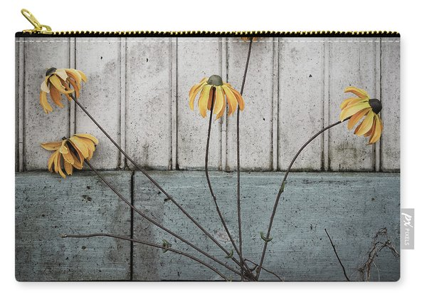 Fake Wilted Flowers Carry-all Pouch