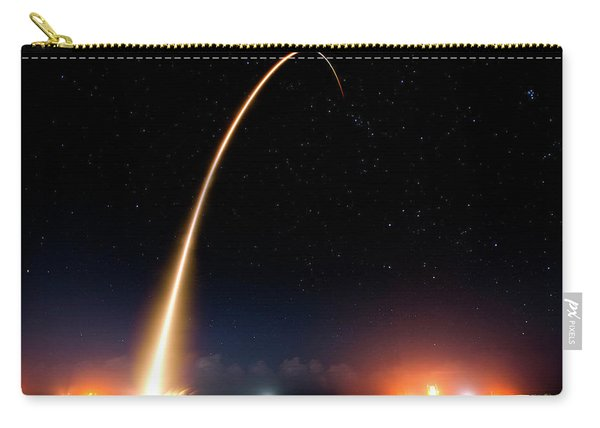 Falcon 9 Rocket Launch Outer Space Image Carry-all Pouch