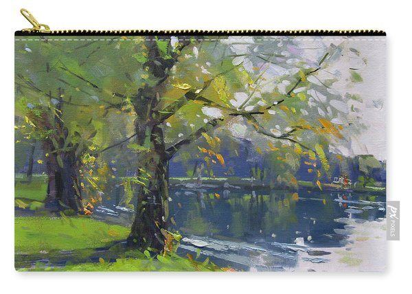 Fall At Bond Lake Park Carry-all Pouch
