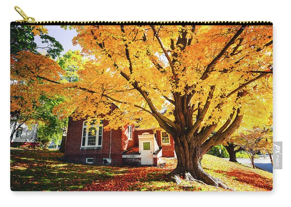 Fall At Goss Reading Room Carry-all Pouch