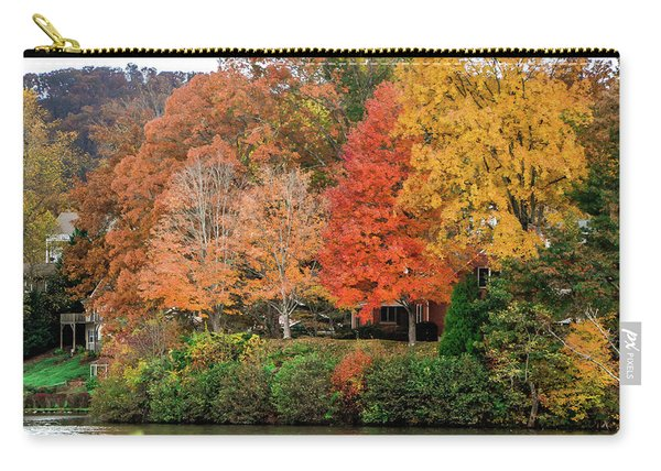 Fall At The Lake Carry-all Pouch