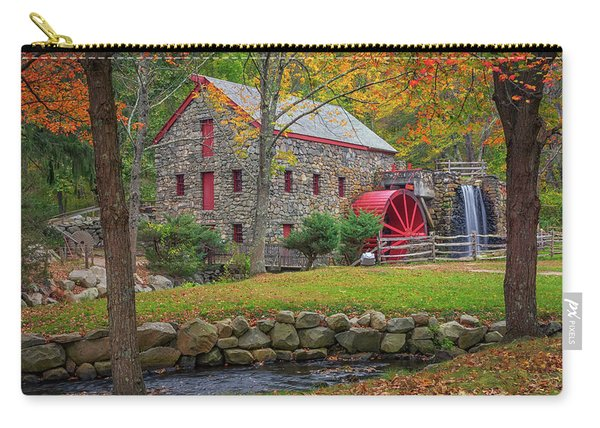 Fall Foliage At The Grist Mill Carry-all Pouch