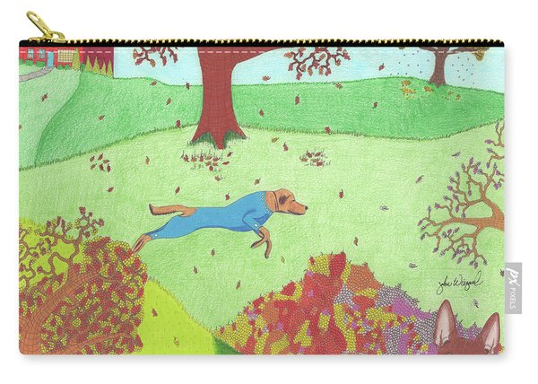 Falling Leaves Carry-all Pouch