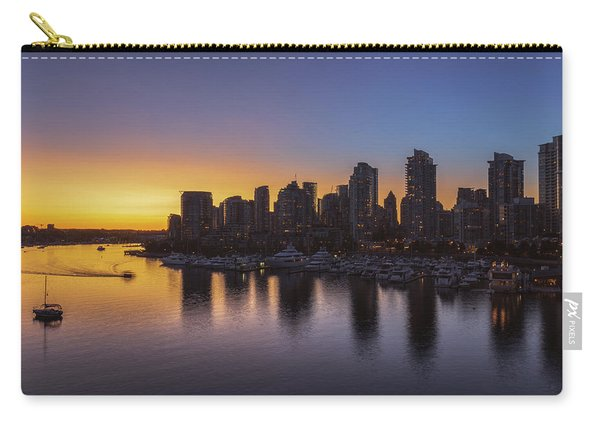 False Creek Sunset No 1 Carry-all Pouch