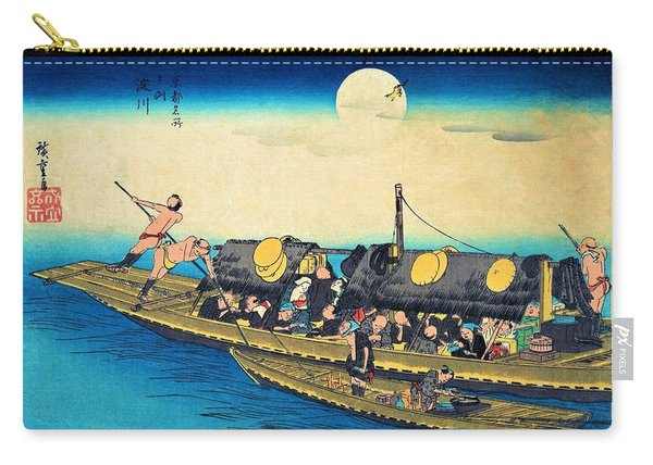 Famous Views Of Kyoto - Yodogawa Carry-all Pouch