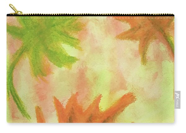 Fanciful Fall Leaves Carry-all Pouch