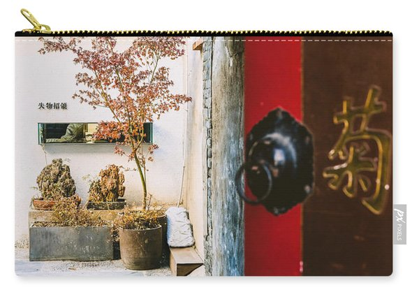 Fangija Hutong In Beijing Carry-all Pouch