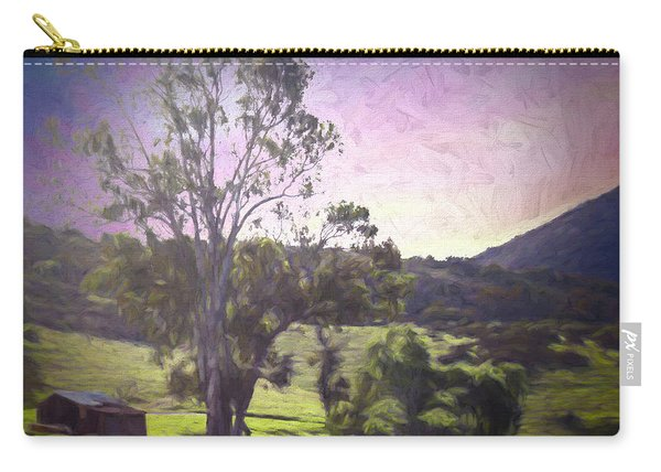 Carry-all Pouch featuring the photograph Farm Scene by Alison Frank