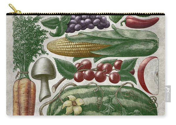Farmer's Market - Color Carry-all Pouch
