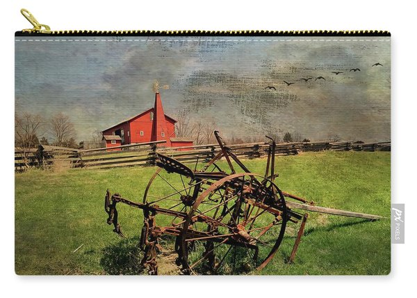 Farming In The 1880s Carry-all Pouch