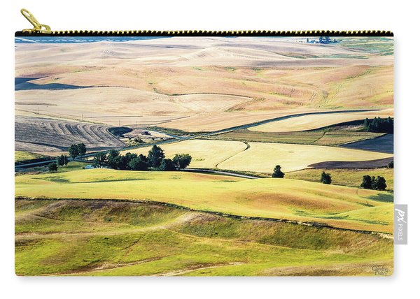 Farming The Palouse Carry-all Pouch