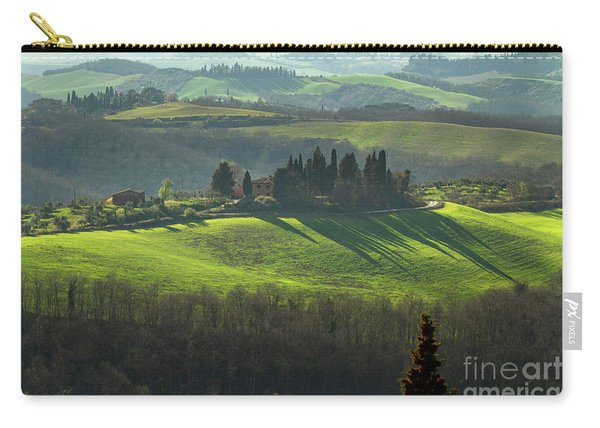 Farmland In Le Crete Senesi, Tuscany-1 Carry-all Pouch
