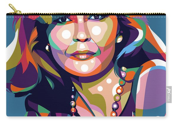 Faye Dunaway Carry-all Pouch