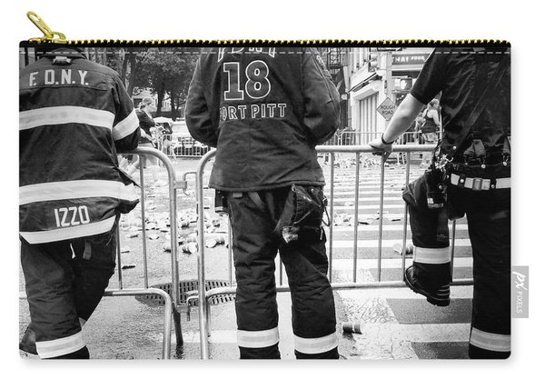 Fdny At The Marathon - Street Photography Carry-all Pouch