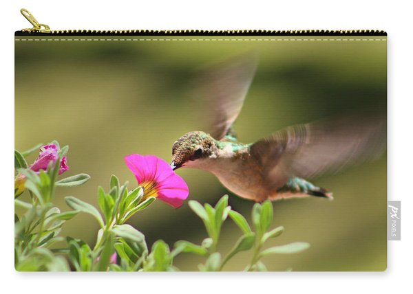 Carry-all Pouch featuring the photograph Feeding Time by Candice Trimble