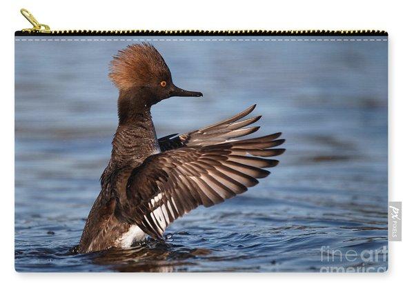 Female Merganser Wings Forward Carry-all Pouch