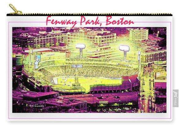 Fenway Park Boston Massachusetts Digital Art Carry-all Pouch