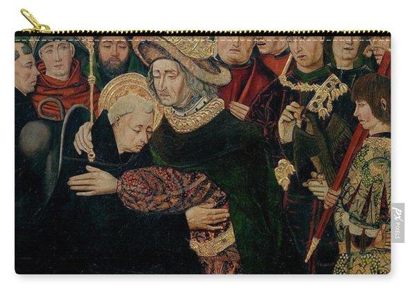 'fernando I De Castilla Acogiendo A Santo Domingo De Silos', 1... Carry-all Pouch