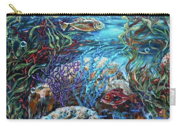 Festive Reef Carry-all Pouch
