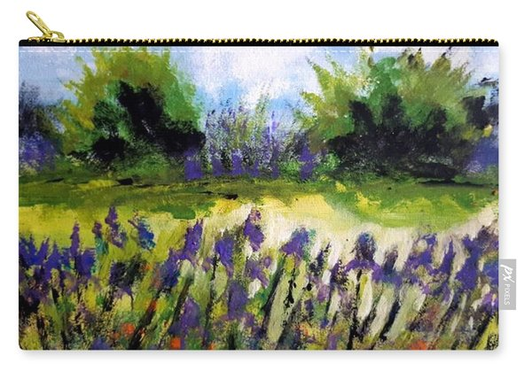 Field Of Irises Carry-all Pouch