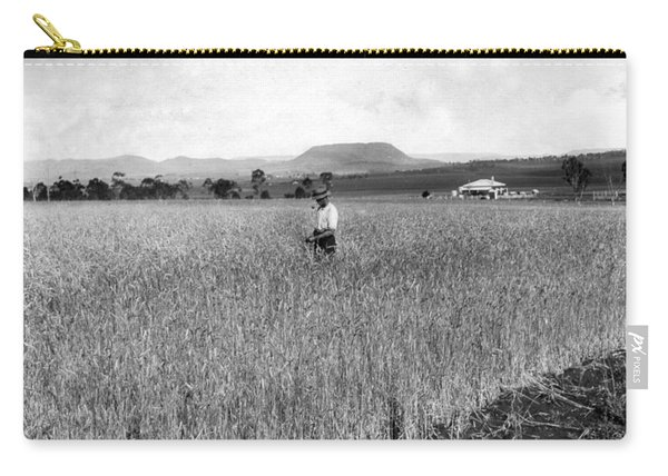 Field Of Wheat Campbell S Plains  Darling Downs Carry-all Pouch