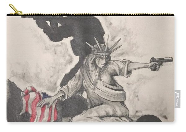 Fighting For Liberty  Carry-all Pouch