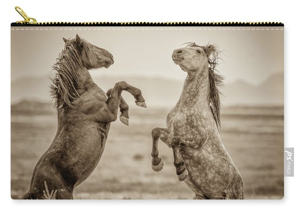 Fighting Stallions 2 Carry-all Pouch